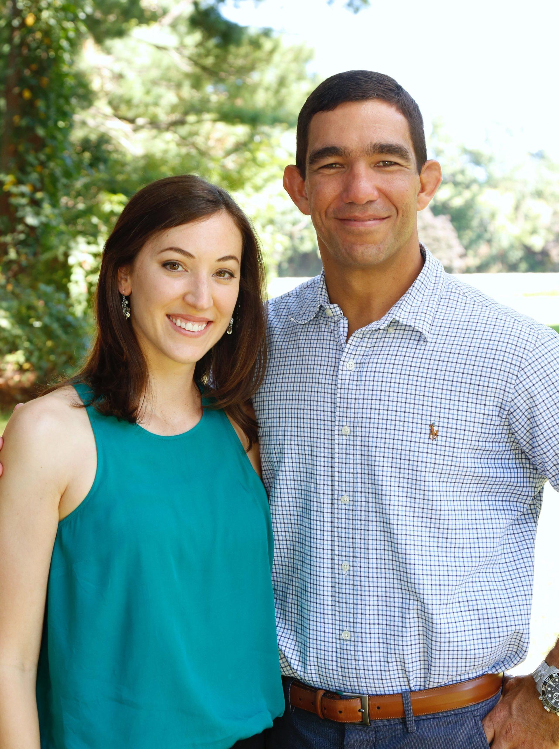 Amy and Tony